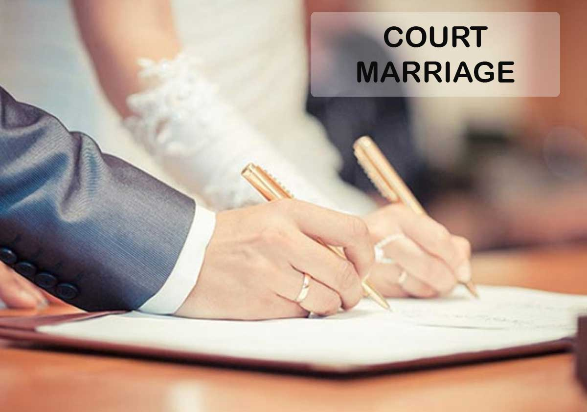 Court Marriages